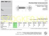 LEMEZCSAVAR DFKH D2.9*13 DIN 7981 HG. PH  LEMEZCSAVAR