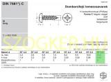 LEMEZCSAVAR DFKH D6.3*13 DIN 7981 HG. PH IMPORT LEMEZCSAVAR