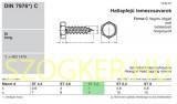 LEMEZCSAVAR HLF 5.5*16 DIN 7976 HG. IMPORT LEMEZCSAVAR
