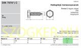 LEMEZCSAVAR HLF 8.0*16 DIN 7976 HG. IMPORT LEMEZCSAVAR